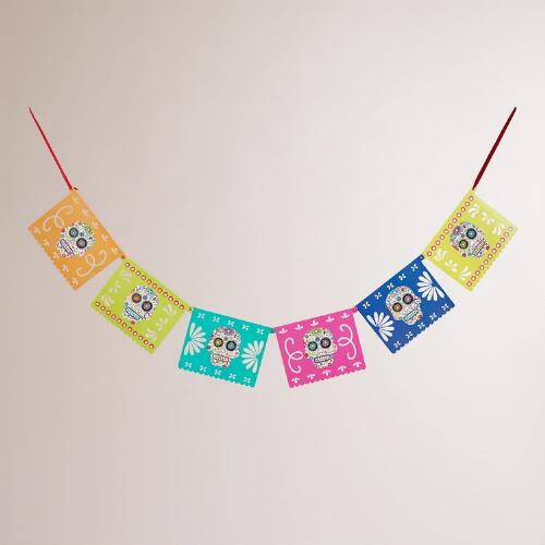 Day of the Dead  Paper Banner