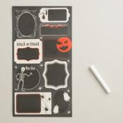 Halloween Chalkboard Sticker Sheets, 3-Count