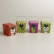 Mini Zombie Punk Takeout Boxes, Set of 4