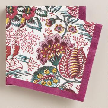 Pomegranate Harvest Lunch Napkins, 20-Count