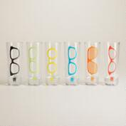 Glasses Shot Glasses, Set of 6