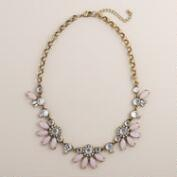 Lilac Bauble Bib Statement Necklace