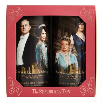 The Republic of Tea Downton Abbey Gift Box