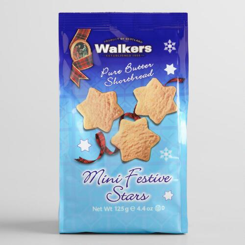 Walkers Shortbread Mini Festive Stars