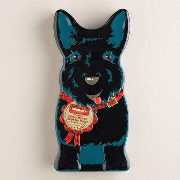 Walkers Shortbread Black Scottie Dog Tin