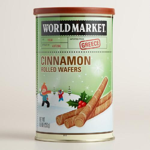 World Market® Cinnamon Rolled Wafer Cookies