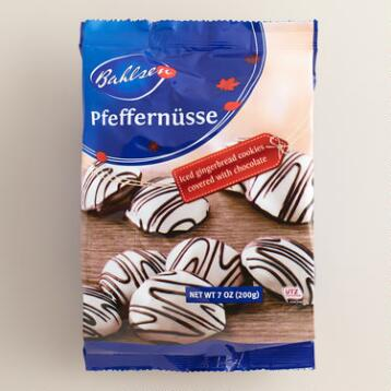 Bahlsen Pfeffernüsse Cookies with Chocolate, Set of 4