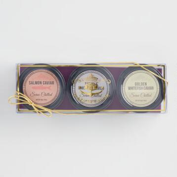 Caviar Gift Set, 3-Pack