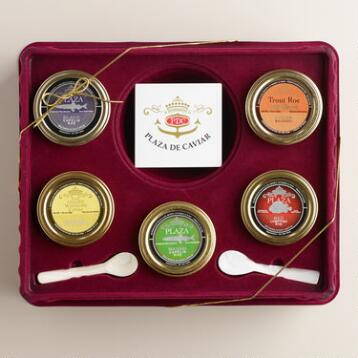 Caviar Gift Set, 5-Pack