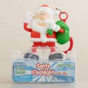 Santa Candy Keychain Flashlight
