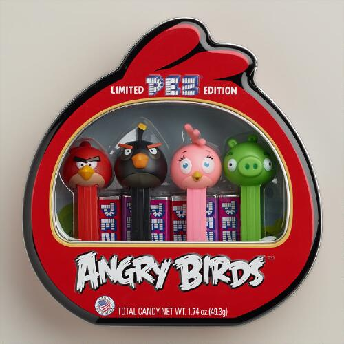 Angry Birds Limited Edition Pez Gift Tin