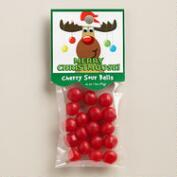 Heritage Cherry Sour Balls, Set of 6
