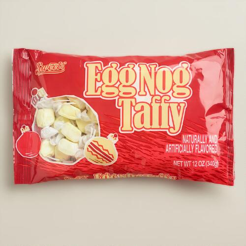 Sweets Eggnog Taffy