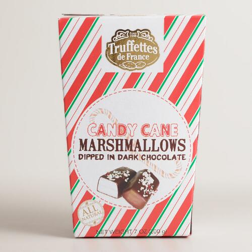 Dark Chocolate and Candy Cane Marshmallows