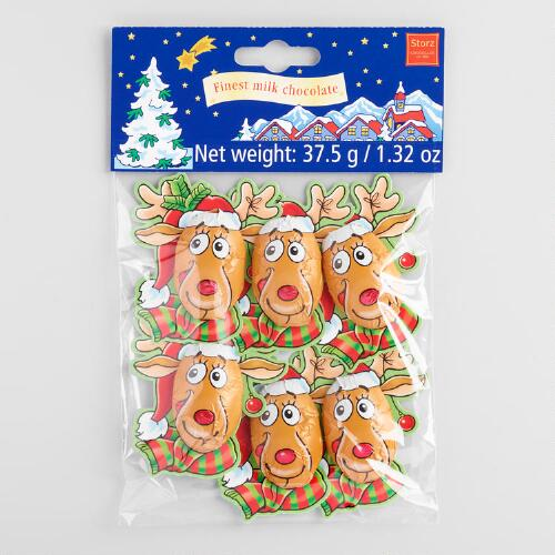 Storz Reindeer Chocolates, Set of 6