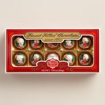Reber Mozart Window Box Chocolates, 9-Piece