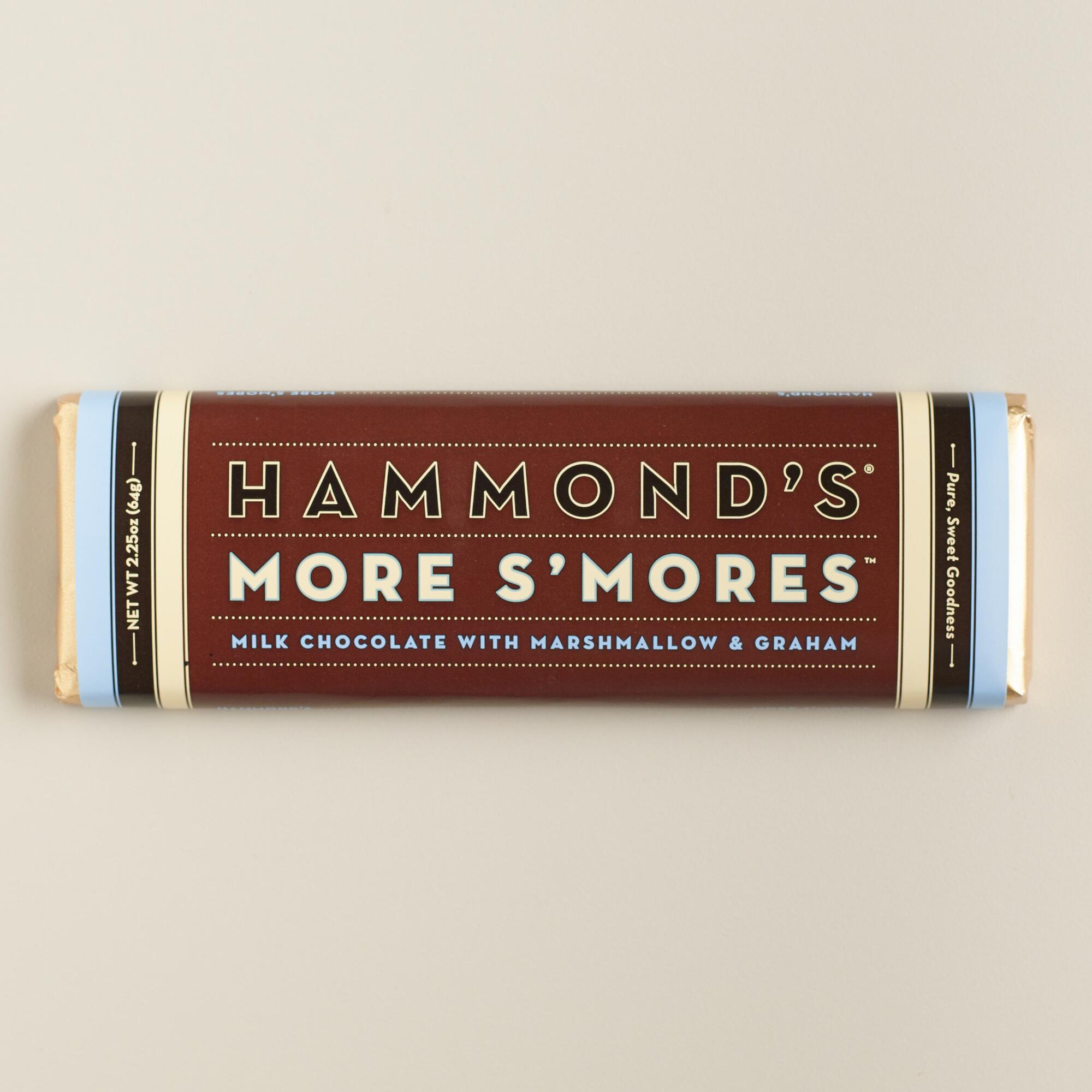 Hammonds More S'Mores Milk Chocolate Bar | World Market