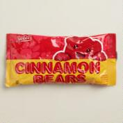 Sweets Cinnamon Bear Gummy Candy, Set of 6