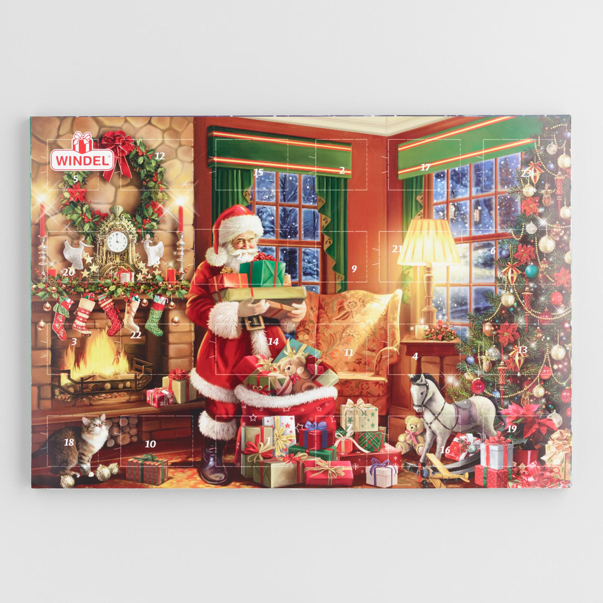 World Bazar: Windel Train Advent Calendar