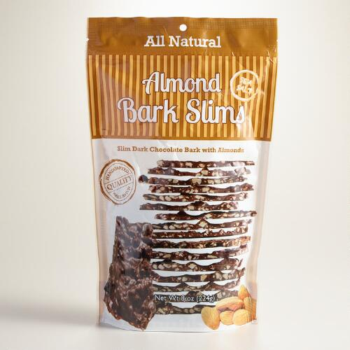 Almond Bark and Sea Salt Slims, Set of 2