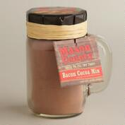 Bacon-Flavored Cocoa in Mason Jar