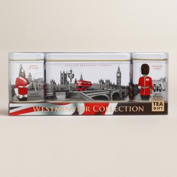 Ahmad Tea of London, Westminster Trio Caddy