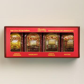 Kahlua Coffee Variety Set, 4-Pack