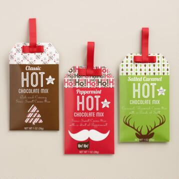 Hot Cocoa Christmas Gift Tags, Set of 3