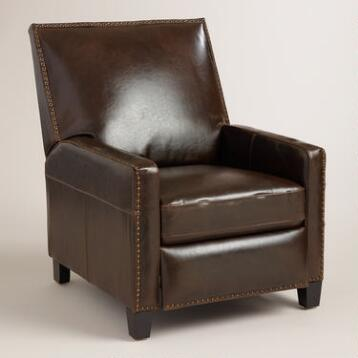 Bi-Cast Leather Bellamy Recliner