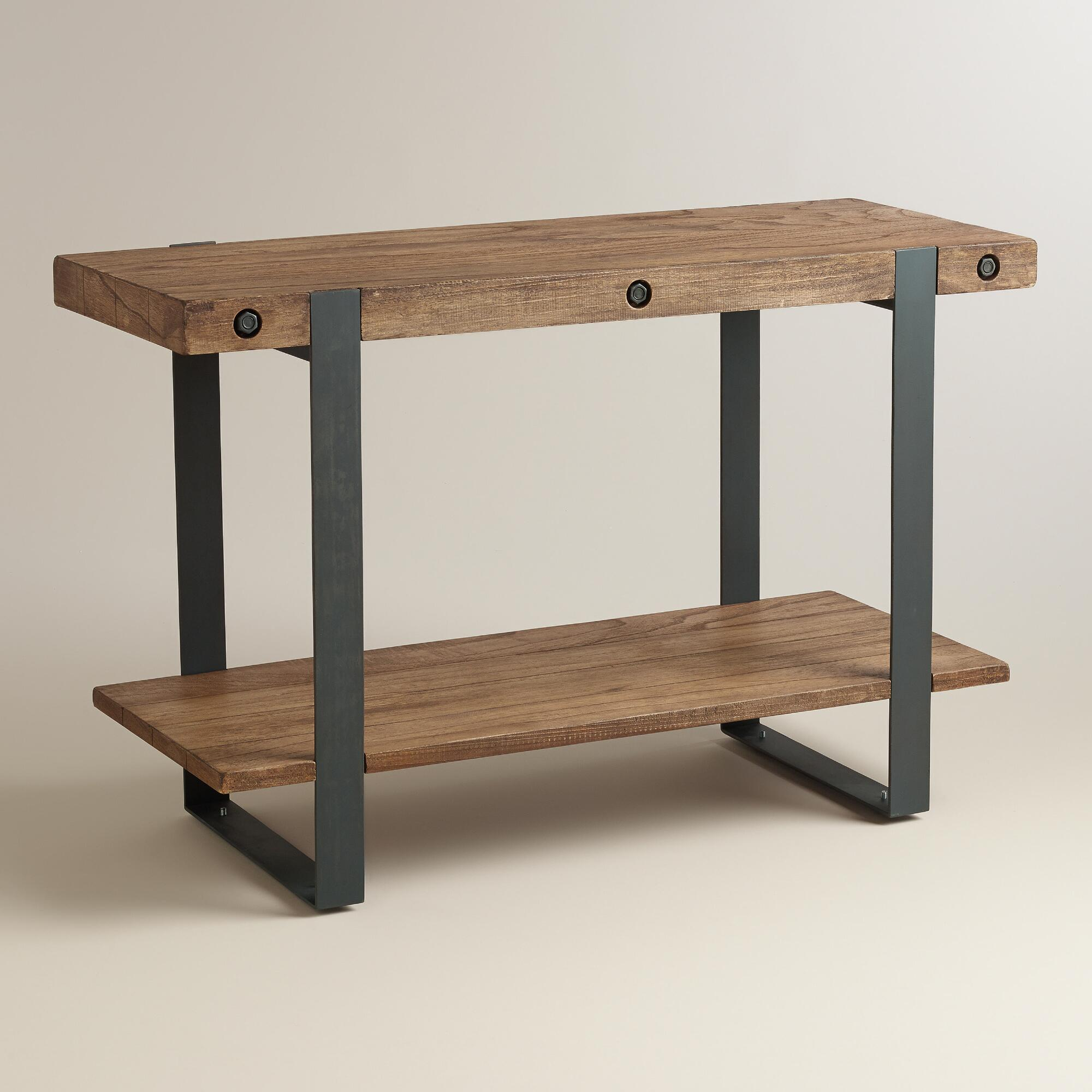 Rustic Skylar Console Table World Market