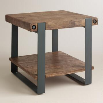 Rustic Skylar End Table