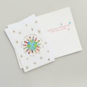 Global Kids Boxed Holiday Cards, Set of 20