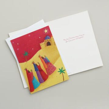 Three Kings Boxed Holiday Cards, Set of 15