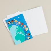 Children Around the World Boxed Holiday Cards, Set of 12