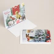 Holiday Dogs Boxed Holiday Cards, Set of 8