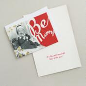 Be Merry Baby Boxed Holiday Cards, Set of 15