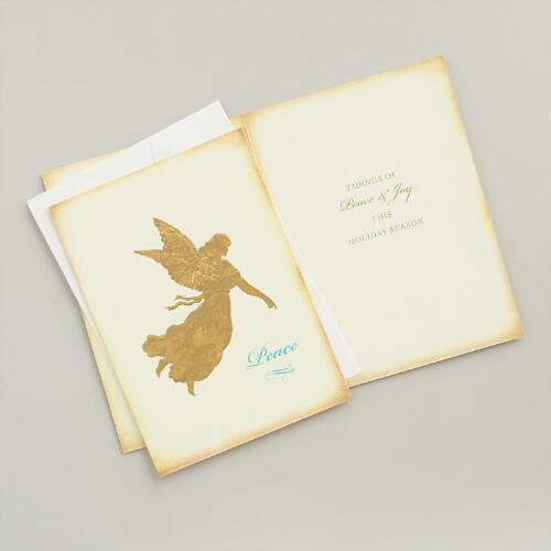 Heritage Angel Boxed Holiday Cards, Set of 15