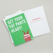 Get Your Fat Pants Ready Boxed Holiday Cards, Set of 15