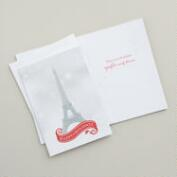Happy Holidays Paris Boxed Holiday Cards, Set of 20