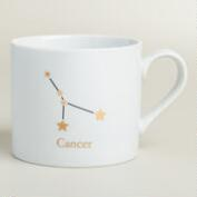 Porcelain Cancer Zodiac Mug
