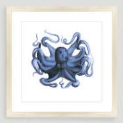 Vintage-Style Octopus Sea Life Wall Art
