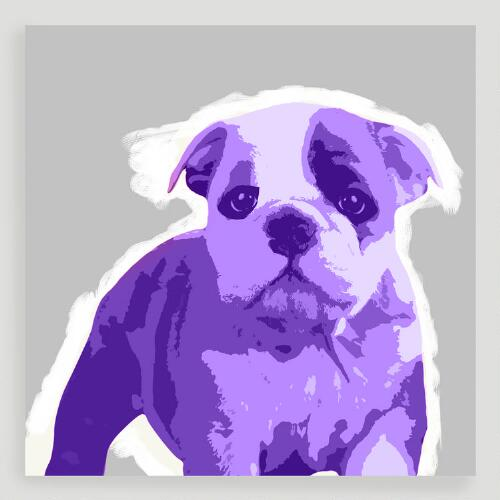 Bulldog Pop Wall Art