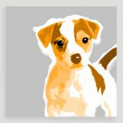 Jack Russell Pop Wall Art