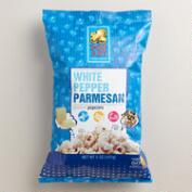 Pop Art White Pepper Parmesan Popcorn