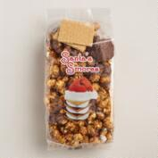 Santa S'Mores Caramel Popcorn Crunch, Set of 2