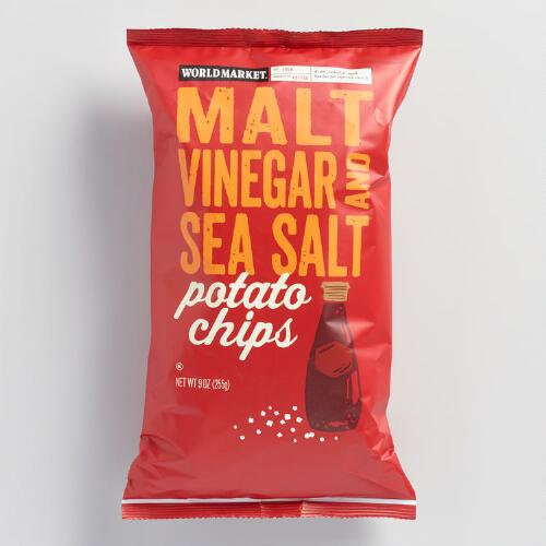 World Market® Malt Vinegar & Sea Salt Kettle Potato Chips