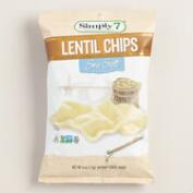 Simply 7 Sea Salt Lentil Chips
