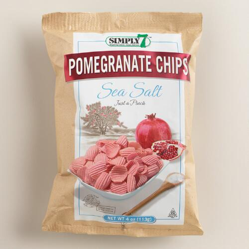 Simply 7 Sea Salt Pomegranate Chips