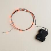 Orange Micro LED 30-Bulb String Lights