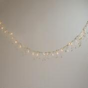 Gold Bead LED Garland Lights